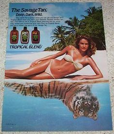 Tropical Blend for the savage tan.