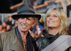"""Keith Richards and Patti Hansen - """"Pirates of the Caribbean"""" World Premiere"""