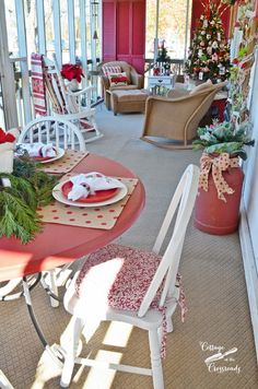 Christmas Home Tour 2015 - Cottage at the Crossroads