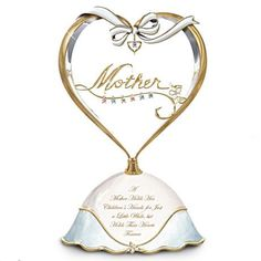 A Heart Full Of Love Personalized Music Box for Mom
