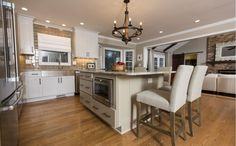 After: #Kitchen. This is absolutely gorgeous! We are huge fans of this design.