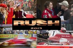 Even though Chris Hemsworth's Thor: The Dark World keeps getting so much attention, there's another very exciting movie of his coming out before he wields his mighty hammer. Rush Movie, James Hunt, Ron Howard, The Dark World, New Poster, One Image, Music Tv, Great Movies