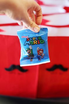 Super Mario Party Ideas - mariofruitsnacks For the loot bags?