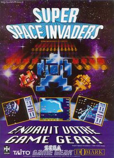 Pub / Super Space Invaders / Game Gear / France