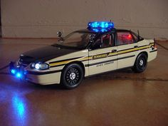 Tennessee state police car