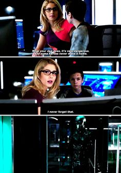 Arrow 6x11 // Tears? What tears? That's just Laurel's empty costume.