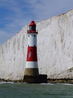 Beachy Head Lighthouse  English Channel, Sussex. I want to go see this place one day.Please check out my website thanks. www.photopix.co.nz