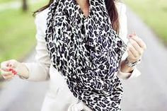 snow leopard scarf - Google Search