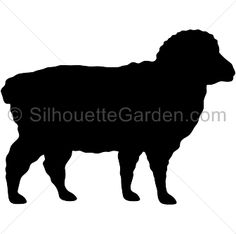 Sheep silhouette clip art. Download free versions of the image in EPS, JPG, PDF, PNG, and SVG formats at http://silhouettegarden.com/download/sheep-silhouette/