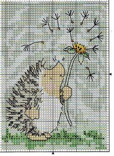 Hedgehog w Dandelion