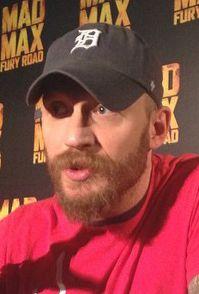 Tom Hardy - Mad Max press junket - May 2015