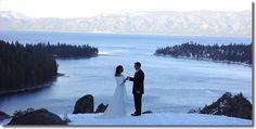 Lake Tahoe Winter Wedding http://www.highmountainweddings.com/Art/bigwintersm.jpg