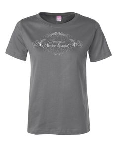 Elegant American Water Spaniel Crewneck T-shirt