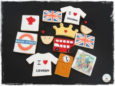 I Love London Cookies
