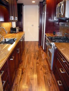 Basic Kitchen Layout, The Galley Kitchen