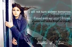 Thalia Grace, Daughter of Zeus! love her!!!