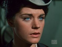 : Meg Foster visits the Old West, The Silent Killer episode of Bonanza Meg Foster, Most Beautiful Eyes, Lovely Eyes, Amazing Eyes, Beautiful People, Beautiful Women, Classic Actresses, Actors & Actresses, Rare Eye Colors