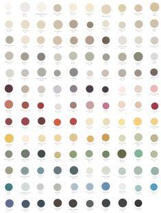 Paint Color Palettes, Neutral Paint Colors, Paint Color Schemes, Best Paint Colors, Wall Paint Colors, Bedroom Color Schemes, Exterior Paint Colors, Gray Paint, Grey Colour Chart