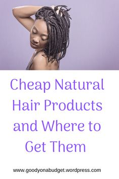 Cheap Natural Hair Products and Where To Get Them #natural #Jamaica