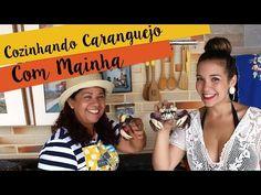 [VÍDEO] Aprendendo a fazer caranguejo e me divertindo na cozinha de Mainha | Salto Agulha
