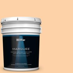 BEHR MARQUEE 5-gal. #P220-3 Tropical Fruit Satin Enamel Exterior Paint