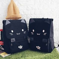 Buy Youme Cat Face Backpack at YesStyle.com! Quality products at remarkable prices. FREE Worldwide Shipping available!