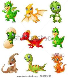 Find Illustration Set Cartoon Dinosaurs Collections stock images in HD and millions of other royalty-free stock photos, illustrations and vectors in the Shutterstock collection. Crochet Dinosaur, Dinosaur Pattern, Cartoon Dinosaur, Cute Dinosaur, Dino Park, Hello Kitty Characters, Baby Dinosaurs, Dragons, Animal Drawings