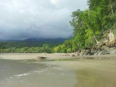 Playa Ventanas, bahía Ballena