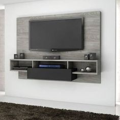 TV Wall Mount Ideas To Create Perfect View Of Your Decor 50 Cool TV Stand Designs for Your Home tv stand ideas diy, tv stand ideas for living room, tv stand ideas bedroom, tv stand ideas black, Home Tv Stand, Diy Tv Stand, Ikea Tv Stand, Wall Tv Stand, Bedroom Tv Stand, Tv In Bedroom, Bedroom Ideas, Deco Tv, Tv Wanddekor