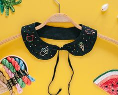 Embroidered DIY: Peter Pan Collar