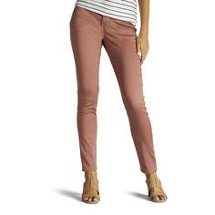 Women's Lee Rebound Slim Fit Skinny Jeans, Size: 4 - regular, Lt Orange