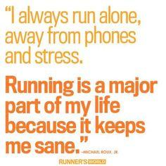 Running = Sanity Check! #Positivity #OrangeLife