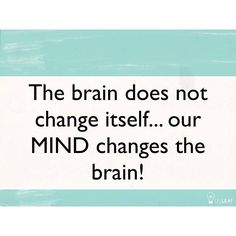Read Luke 16:19-31 to see that the mind is separate from the brain - this is God's divine design