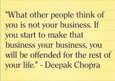 None of Your Business...... Real Talk