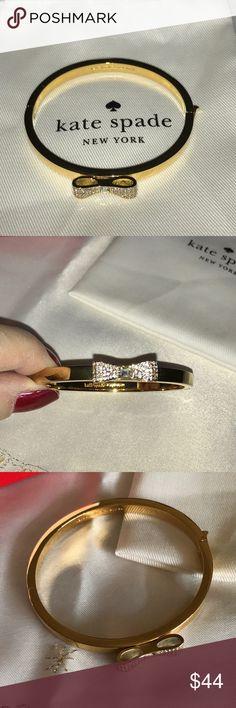 Spotted while shopping on Poshmark: Gorgeous Kate Spade gold bow bracelet, NWOT! #poshmark #fashion #shopping #style #kate spade #Jewelry