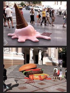 Advertising Campaign : Megastar Cineplex Cloudy with a chance of meatballs 8 Creative Outdoor Ads You Street Marketing, Guerilla Marketing, Guerrilla Advertising, Experiential Marketing, Creative Advertising, Advertising Campaign, Advertising Design, Marketing And Advertising, Ads Creative