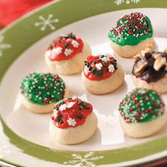 Cherry Bonbon Cookies Recipe from Taste of Home -- shared by Lori Daniels, Beverly, West Virginia