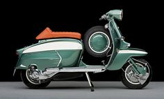 Lambretta - Sheer Perfection, courtesy of Tim Scott Vespa Piaggio, Lambretta Scooter, Vespa Scooters, Retro Scooter, Scooter Custom, Scooter Motorcycle, Retro Roller, Italian Scooter, Motor Scooters