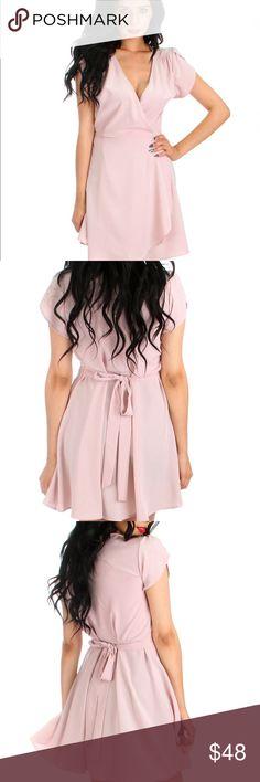 Selling this n̲w̲t̲ ★͞͞∞͞͞ вℓυѕн Posh Pink wrap- dreѕѕ ∞͞͞★͞͞ in my Poshmark closet! My username is: hacsince91. #shopmycloset #poshmark…