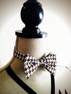 We hope to start carrying his custom made ties...Fitted pre-tied Bow Tie, iontiveros.com