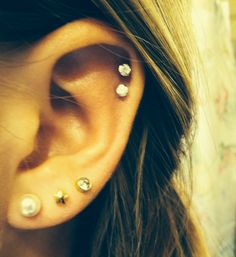 Double cartilage and third piercing