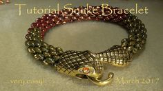 Tutorial Snake Bracelet ... very easy! - March 2017