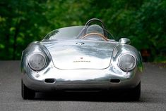 Mecum adds a stunning 1958 Porsche to its Monterey Auction. The rare race car won 3 titles during the 1958 racing season. Steve Mcqueen Le Mans, Porsche 550, Racing Events, Vintage Racing, Future Car, Fast Cars, Classic Cars, Automobile, Auction