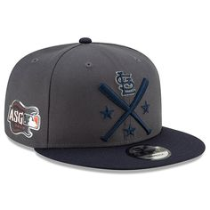 uk availability 2ac2d 88166 Men s St. Louis Cardinals New Era Graphite Navy 2019 MLB All-Star Workout