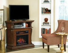 The Corinth Electric Fireplace Media Console is one of our most popular models. Read why.