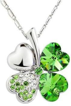Four Leaf Clover Irish Pendant