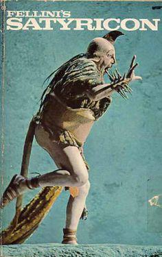 Items similar to Fellini's Satyricon - Federico Fellini -Ballantine Books - New York; First printing March 1970 on Etsy Alfred Hitchcock, Martin Scorsese, Joan Crawford, Asa Nisi Masa, Stanley Kubrick, Renoir, Fellini Films, Fritz Lang, Book Cover Art