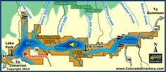 Blue Mesa Reservoir Curecanti National Recreation   Colorado Vacation Directory