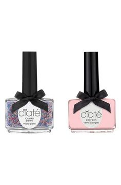 31 December 2013 Make a stylish statement this New Year with Ciate's caviar manicure set. Ciate's Caviar Manicure and Pink Paint Pot, available at Selfridges. Caviar Manicure, Manicure And Pedicure, Pedicures, Shellac Manicure, Home Design, Design Ideas, Ciate Nail Polish, Nail Polishes, Contouring And Highlighting