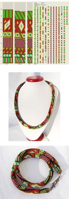 "15 ks    Venge, Artist, Harness-patchwork ""Special Spices"", DYI Jewelry Board for pattern #crochet #beadcrochet #PurelyInspiration http://fotki.yandex.ru/users/vengeralena/view/627961/?page=2"